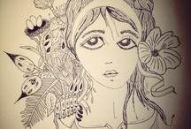 Dibuix natura tinta