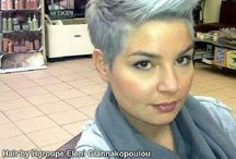 Blonde grey pixie's / Super sexy grey pixie's