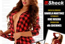 Calendario 2016 con Daniela Martinez / Daniela Martinez es la Chica Calendario 2015 en Shock Magazine®