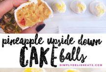 Cake balls!! / Cakeballs