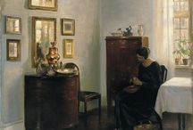 Artist - Carl Vilhelm Holsoe
