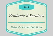 Products and Services / Nature's Natural Solutions Goat Milk Skin Care Products and Services we Offer