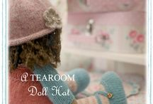 TEAROOM Doll Hats...