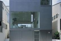 Minimal contemporary houses