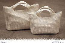 Uncinetto borse pochettes clutches / Crochet bags purses