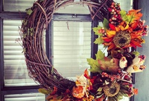 Fall decor / by Krista Letzring