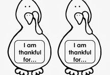Classroom thanksgiving