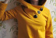 Nähen Oberteile / Schnittmuster+ Anleitungen für Jacken, T-shirts, Pullover, Ponchos
