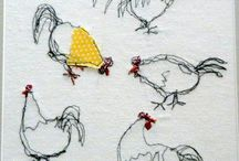 chicken drawing/doodles / Inspiration