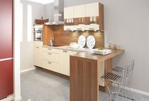 Kitchen renovation / Justvud like to introduce ourselves as Kitchen Cabinet Manufacturers and Italian Kitchen,Kitchen Accessories lots of service provides related to home appliances / by Sonu mishra