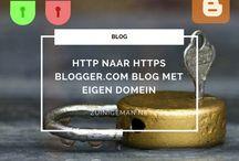 blogspot, google Custom Domain, HTTP, HTTPS zuinigeman