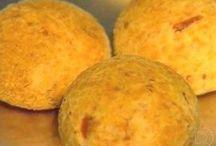 Pão de queijo com polvilho e fécula