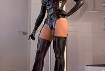 latex and leather love