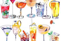 libations and other adult beverages