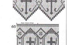 Filet crochet - Church Lace -