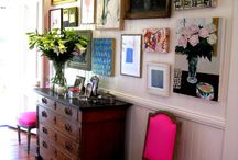 entry rooms / by Pink and Polka Dot
