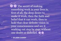 quotes / by Geraldine Cross