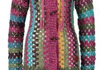 abrigos a crochet