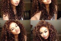 Curly-Wurly Hair!
