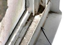 Limpiar carril ventana corrediza
