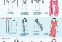 How to ware a scarf / How to ware a scarf