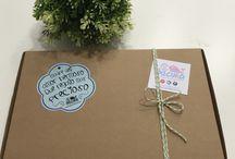 Packagin y regalitos cukis / Regalos bebe personalizados