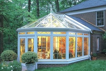 Sunrooms, Porches, Sheds & Cottages / by Sherri Mackinson
