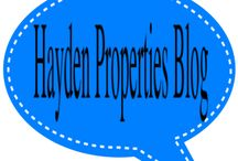 Hayden Properties Blog / We hope our current and prospective residents enjoy our blog.  On this blog we will keep everyone informed of upcoming local events in Texas, North Mississippi, Georgia and Arizona on apartment tips and much more.  Hopefully the blog is entertaining and be sure to check back soon! www.hayden-properties.com/blog