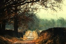 "Autumn / ""I'm so glad I live in a world where there are Octobers"". ― L.M. Montgomery.  / by Inkifi"