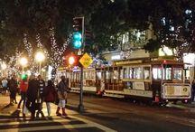 Reizen / Xmas at San Francisco
