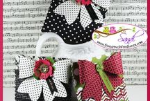 Bow decorated items