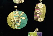 Millefiori Jewelry and polimer clay
