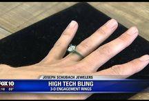 The Magic of #3D jewelry custom design.