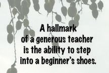 Teachers / Inspirational quotes about teachers, photos, etc. from http://www.RebaLinker.com