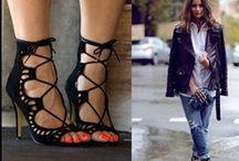 sandales lacets