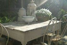 Outdoor Spaces / by MyPetiteMaison.com
