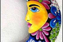 színes festés alkotások