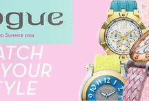 VOGUE Watches Collection!!! Spring - Summer 2014!!!