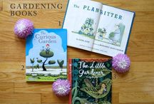 Children books nature and gardening