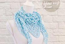 zomer sjaal haken