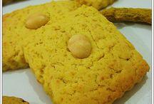 Kurabiyeler / zerdeçallı kurabiye
