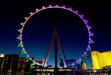The LinQ Las Vegas / PIctures of The Linq, The High Roller Observation Wheel, restaurants, and retail stores part of The Linq attraction