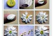 Polymer Clay Flowers Tutorials
