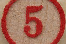 Five / by Avraham González