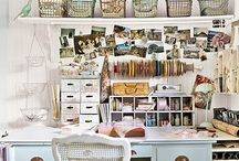 Craft Spaces (Sandy's needs are the inspiration) / by LI Professional Organizer, Jean Linder, Long Island