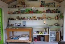 Shed Interiors / by Historic Shed
