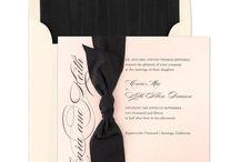 Wedding Invitations / Latest trends in wedding stationery.