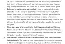 - writing tips