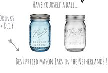 Ball ♡ Mason Jars / Mason Jars inspiration !