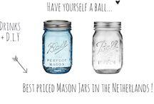 Ball ♡ Mason Jars / Mason Jars inspiration !